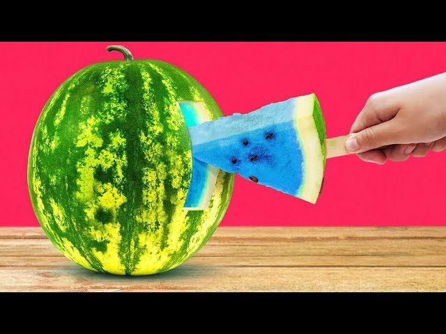 AWESOME LIFE HACKS WITH WATERMELONS