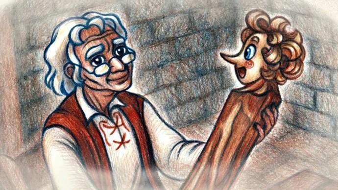 Бабушкины сказки - Буратино | Мультфильмы для детей