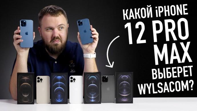 Какого цвета iPhone 12 Pro Max выберет Wylsacom?