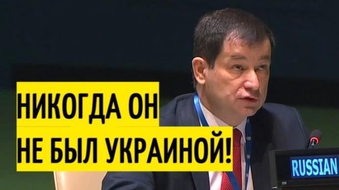 Срочно! Россия РАЗНЕСЛА резолюцию ООН по Крыму и саму Украину!
