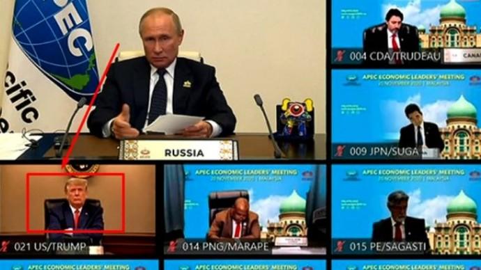 Трамп слушал очень внимательно: Путин обратился к мировым лидерам