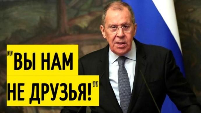 Срочно! Заявление Лаврова ОШАРАШИЛО лидеров Евросоюза!
