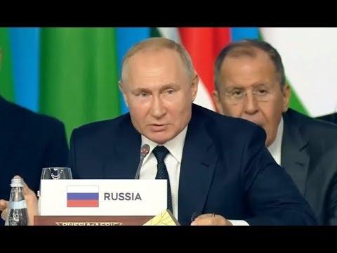 """""""Ведете себя не скромно!"""" От шутки Путина лидер Маврикия чуть не выронил бокал!"""