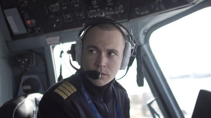 Пилот вертолёта МИ-8 Георгий Кузьмин