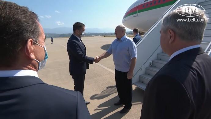 Срочно! Лукашенко прибыл в Сочи на встречу с Путиным