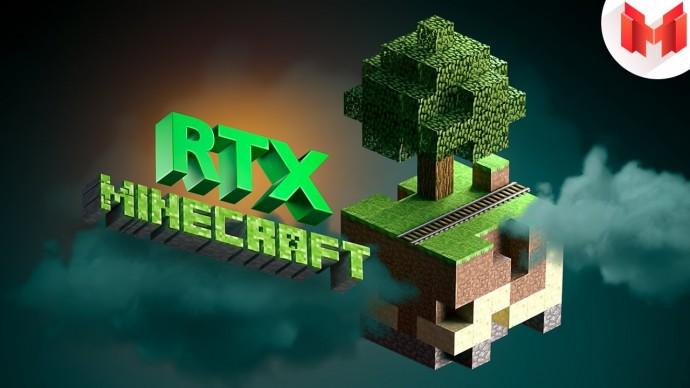 Minecraft RTX - Лучезарные приключения