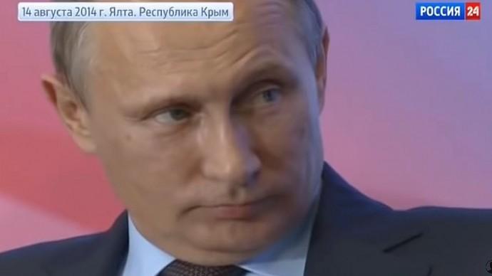 Путин в ШОКЕ! Мощная речь Жириновского в Ялте в 2014 году!