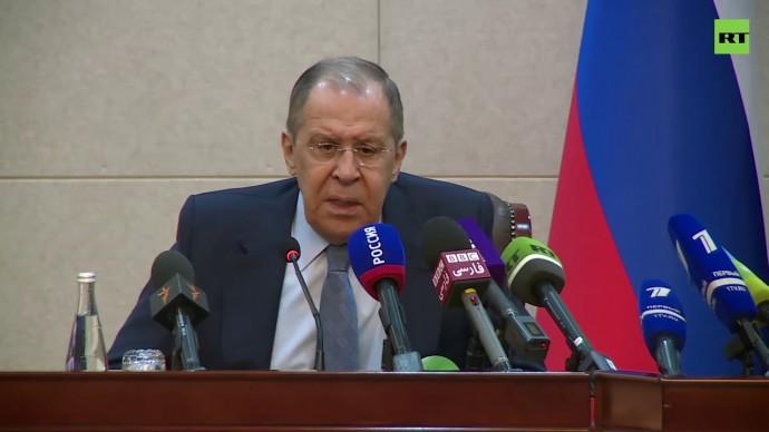 Пресс-конференция Лаврова и министра иностранных дел Таджикистана — LIVE
