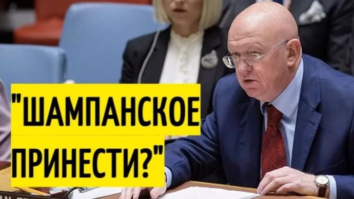Небензя в Совбезе ООН выставил ГЛУПЦАМИ западных партнёров!