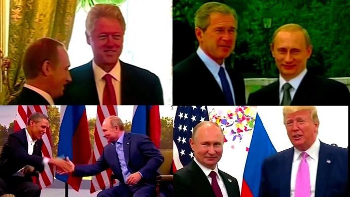 Путин и его американские коллеги: краткая история