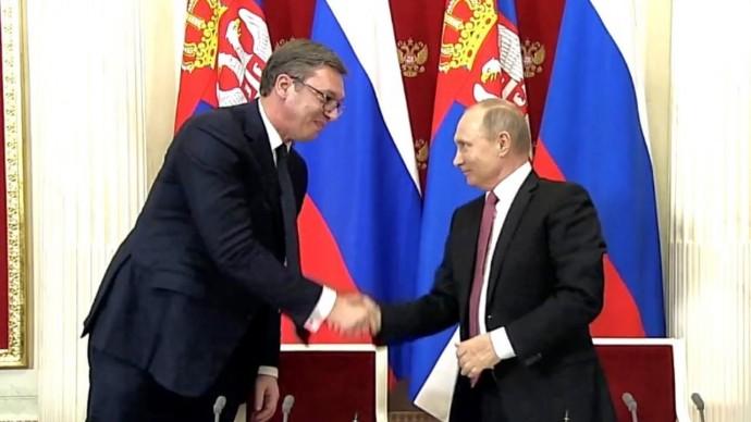 Братья НАВСЕГДА! Мощное заявление Путина и президента Сербии!