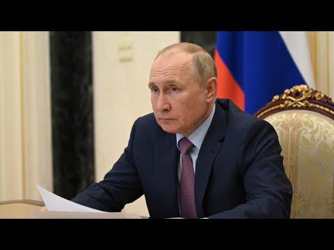 Путин назвал пожары и паводки в РФ проявлением глобального потепления