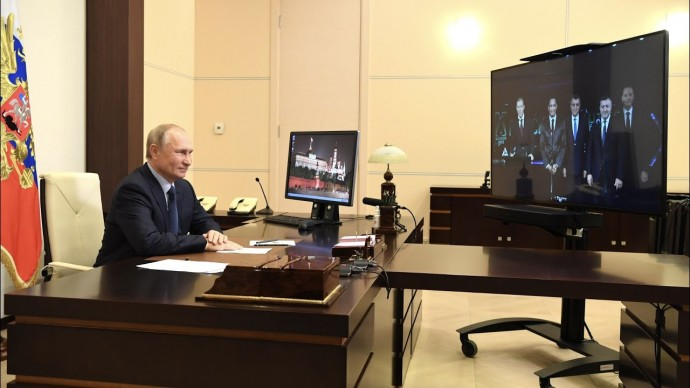 Путин принял участие в открытии нового цеха фармацевтических субстанций на заводе «БратскХимСинтез»