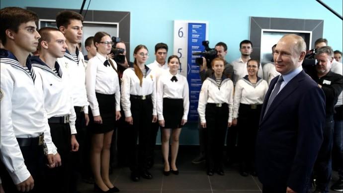Путин оценил важность Севморпути
