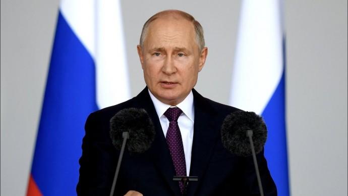 Путин принял участие в церемонии открытия форума «Армия-2021»