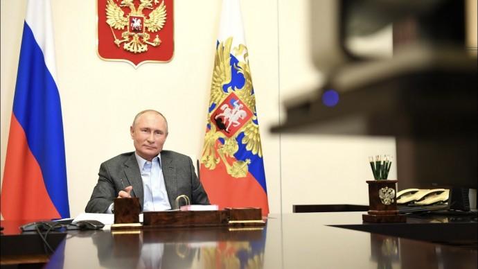"""""""В крови у нас"""": Путин рассказал о моральном лидерстве россиян во время испытаний"""