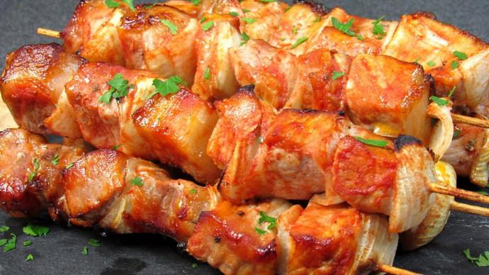 Шашлык в духовке ☆ В ожидании лета, готовим вкусный шашлык в духовке из свинины
