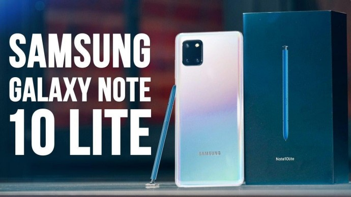 Galaxy Note 10 Lite Обзор