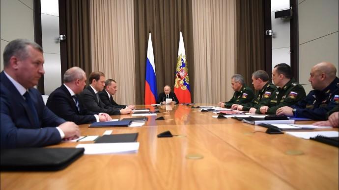 Путин сообщил о создании нового пункта управления ядерными силами