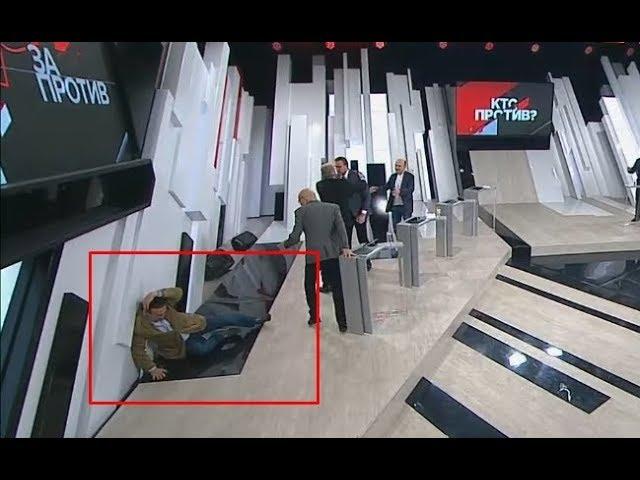 """ОТПРАВИЛ В НОKAУТ!!! Украинский эксперт УЛОЖИЛ американца в эфире """"России 1"""""""