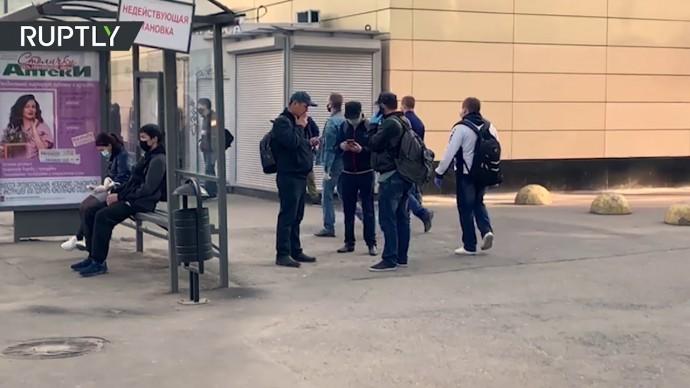 Обстановка в Москве после завершения периода нерабочих дней и ввода масочного режима