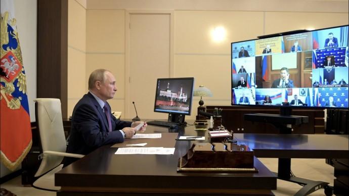 Путин назвал политику краткосрочных газовых контрактов ошибочной
