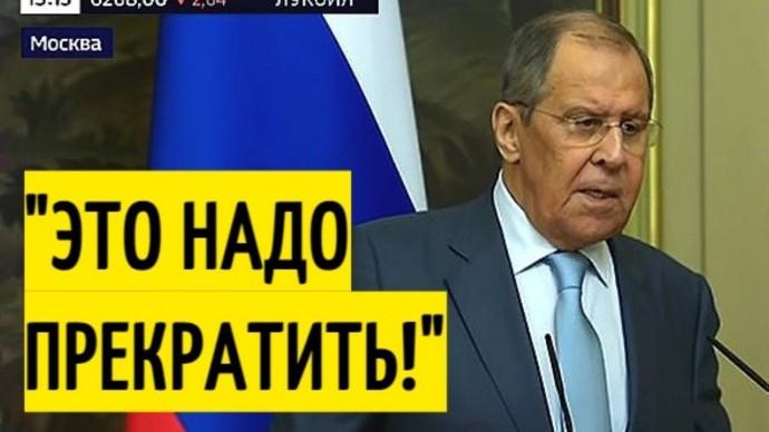 Срочно! Заявление Лаврова о Донбассе ОШАРАШИЛО Украину!