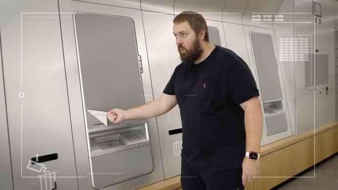 Пытаюсь вскрыть самый умный банкомат с биометрией в отделении будущего