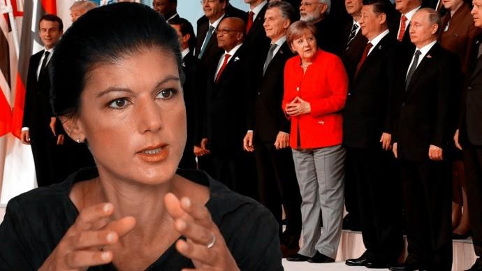 Сара Вагенкнехт: Какой президент лучше - один на двадцать или четыре на пять?