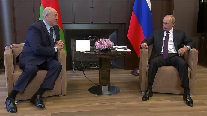 О чем договорились Путин и Лукашенко