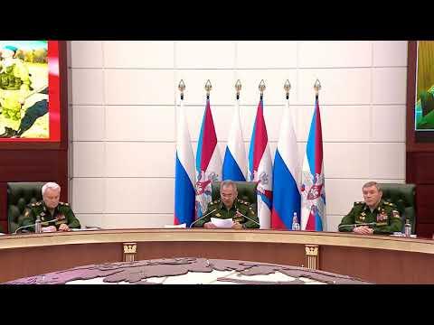 Заявление Сергея Шойгу по ситуации в Белоруссии