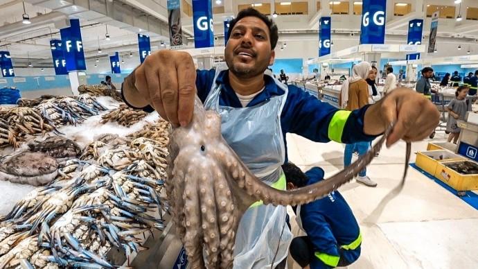 Бюджетный Дубай. Самый крутой рыбный рынок в мире #3