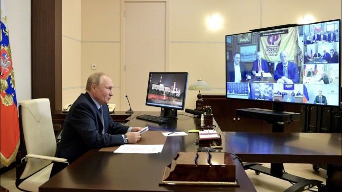 Путин о сомнениях в электронном голосовании: видимо, кому-то не понравился итог