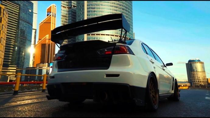 Быстрей EVO на sst в России нет. Mitsubishi Lancer.