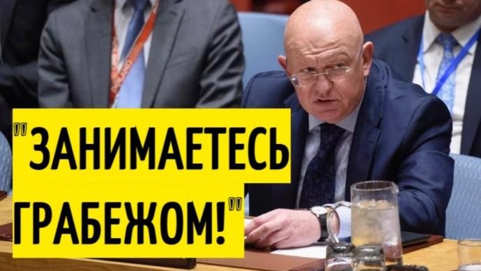Срочно! Небензя ЗАТКНУЛ американцев в Совбезе ООН!