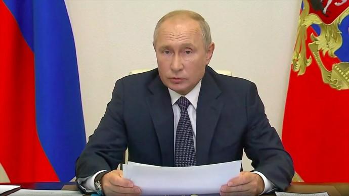 Путин сообщил о регистрации первой в мире вакцины от коронавируса