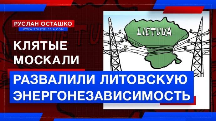 Клятые москали развалили литовскую энергонезависимость (Руслан Осташко)
