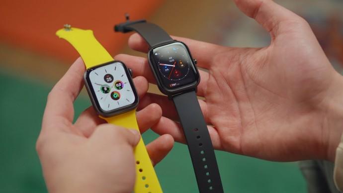 Xiaomi Amazfit GTS vs Apple Watch Series 5 — кто круче?