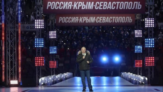 """""""Святая земля для России"""". Путин поздравил россиян с годовщиной возвращения Крыма"""