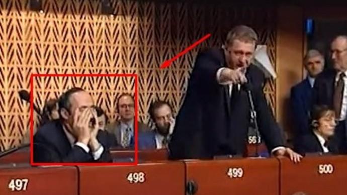 Жириновский ГРОМИТ Европарламент! Знаменитая речь (1998 год)