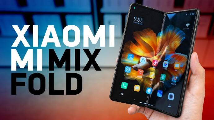 Складной MIX Fold от Xiaomi по цене iPhone и дешевле Galaxy Fold!