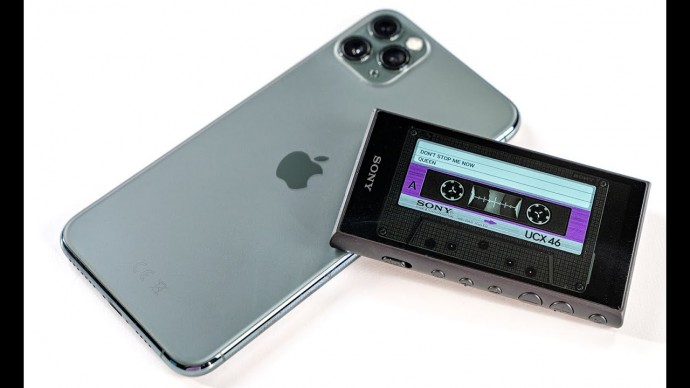 Зачем AirPods Pro, когда есть Walkman за 22.000 руб с торрентом и lossless?