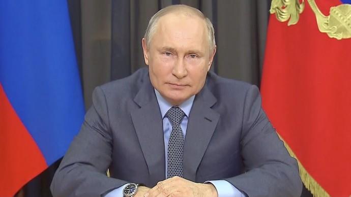 """Путин поздравил участников фестиваля """"Большая перемена"""" с Международным днем защиты детей"""