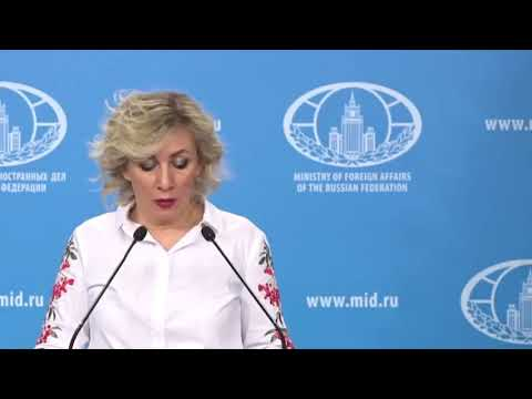 Мария Захарова ПРЕДУПРЕДИЛА Прибалтику! Ответка Литве и Латвии!
