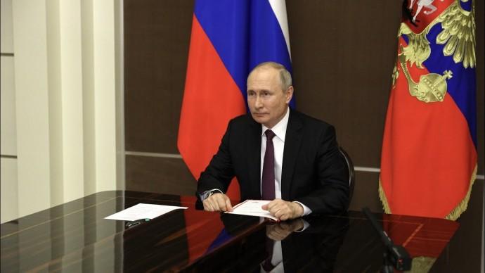 Путин обсудил с Совбезом Стратегию национальной безопасности России