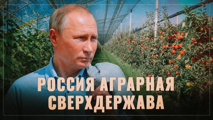 Гроссмейстер Путин. Санкции превратили Россию в аграрную сверхдержаву