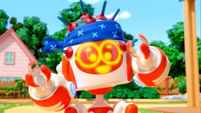 Ник изобретатель все серии | Сборник мультиков про то как Ник и роботы играют в игры!