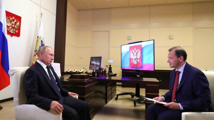 Путин сообщил о создании резерва из силовиков для помощи Белоруссии