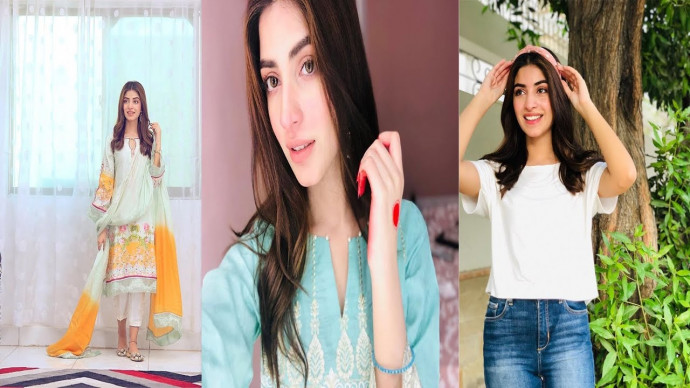 Latest Beautiful Clicks of Kinza Hashmi