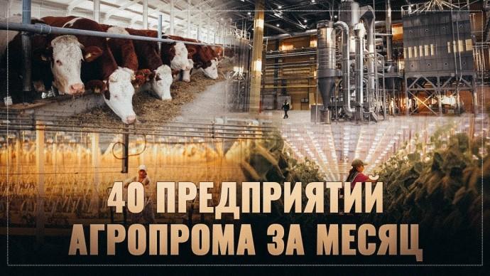 Агропромышленный бум в России впечатляет! За месяц построено 40 новых предприятий!